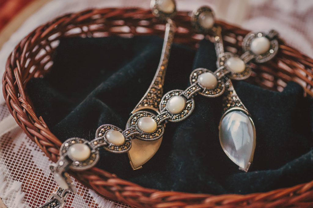 Complementos de la novia, joyas