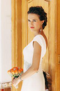 Novia preparada para la boda